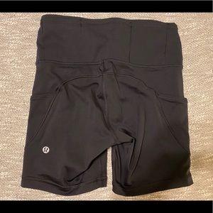 lululemon athletica Shorts - Lululemon Fast & Free short 6 inch size 4 Black